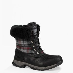 UGG Men's Butte Winter Boots Plaid NEW IN BOX